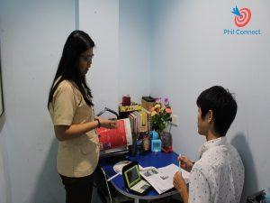 Lớp 1-1 trường Anh ngữ Philinter, Cebu