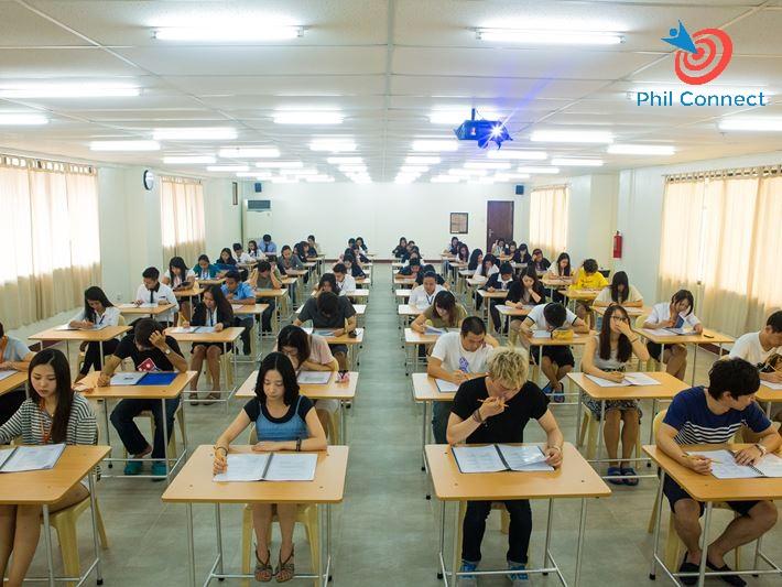 Phòng thi thử IELTS tại trường Anh ngữ SMEAG