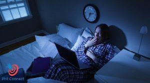 Không nên thức khuya để bảo vệ sức khỏe
