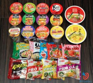 Đồ ăn cần mang theo khi du học tiếng Anh tại Philippines