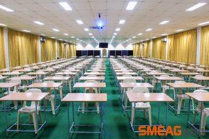 Phòng thi thật IELTS tại trường SMEAG