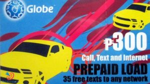 Thẻ điện thoại của nhà mạng Globe tại Philippines