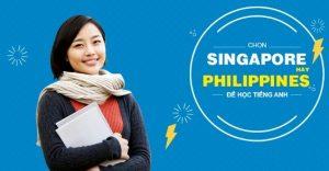 Nên du học tiếng Anh ở Philippines hay Singapore
