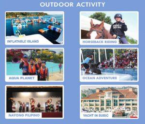 Du học hè Philippines - Hoạt động cuối tuần