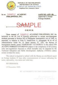 Học tiếng Anh tại Philippines - Phí SSP