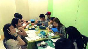 Lớp học nhóm trại hè Philippines