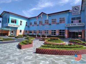 Học cấp 3 ở Philippines - khu lớp học trường SMEAG