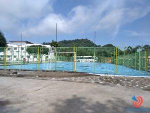 Học cấp 3 ở Philippines - sân bóng đá trường SMEAG