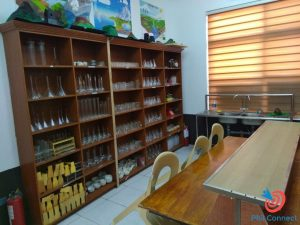 Học cấp 3 ở Philippines - phòng thí nghiệm trường SMEAG