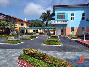 Học cấp 3 ở Philippines -phòng học và khu KTX