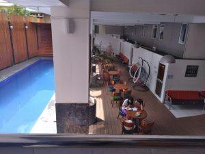 Bể bơi campus Sparta trường SMEAG