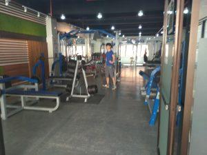 Phòng gym tại campus Classic trường SMEAG