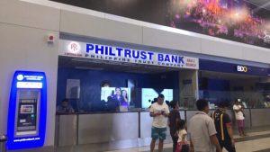 Quầy đổi tiền tại sân bay Manila
