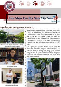 Học cấp 3 tại Philippines - Cảm nhận của học viên