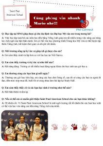 Học cấp 3 tại Philippines - Phỏng vấn học viên