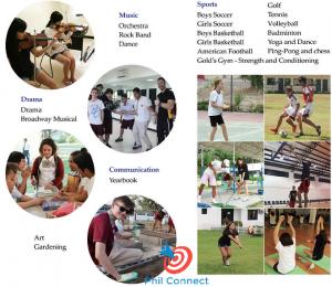 Học cấp 3 tại Philippines - Các hoạt động nổi bật