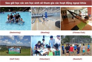 Học cấp 3 tại Philippines - Hoạt động thể thao