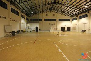 Học cấp 3 tại Philippines - Nhà thi đấu bóng rổ