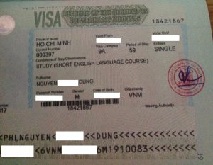 Visa du học Philippines - Mr. Quang Dũng