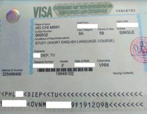 Visa du học Philippines - Ms. Diệp Tú