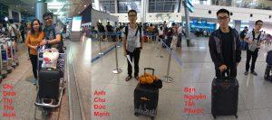 Hỗ trợ học viên tại sân bay